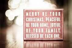 sweet Christmas words-great card sentiment