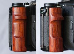 Pentax 67 Pentax67 Pentax6x7 Custom wooden grip handle right hand