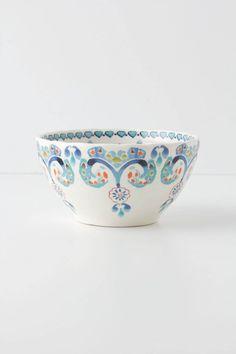 Swirled Symmetry Bowl