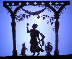 Shadow puppet of Pomona