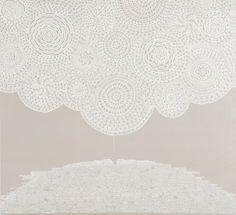 Faridah Cameron-Tasmanian View. Acrylic on canvas, 115 x 125 cm