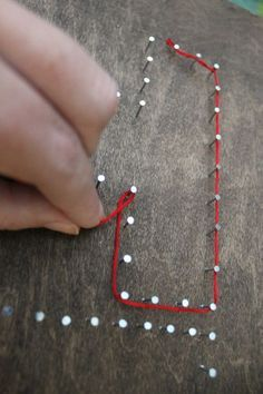 String Word Art Tutorial: Easy to make and doesn't cost a ton!