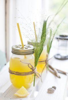 mango - zitronen limonade