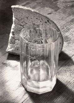 Still Life - Glass And Bread, Josef Sudek