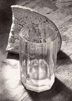 Still Life - Glass And Bread, Josef Sudek