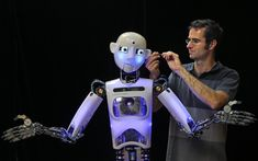 RoboThespian is a life sized humanoid robot designed for human interaction in a public environment. It is fully interactive, multilingual and user-friendly.