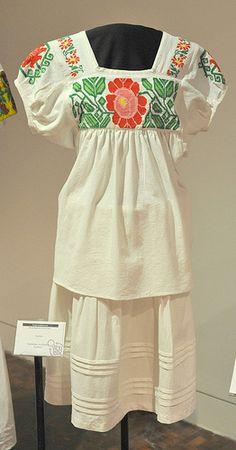 Hidalgo Mexico Nahua Clothing