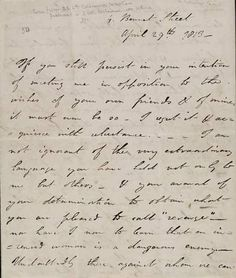 A love letter from Lord Byron to Lady Caroline Lamb, 1813. (Carta de amor de Lord Byron, 1813) pic.twitter.com/bCo404aYkM