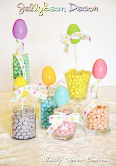 Jelly bean decor