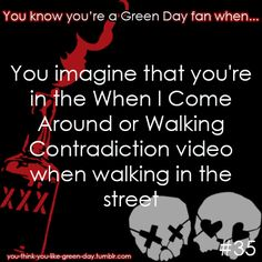 So you like Green Day, huh? We only hope to fill your dashboards with everything Green Day related. Don't be afraid to drop by our ask and talk to us or submit a perk/problem/Green Day joke to us! Soft Grunge, Great Bands, Cool Bands, When I Come Around, Green Day Billie Joe, American Idiot, Billie Joe Armstrong, Band Memes, Blink 182
