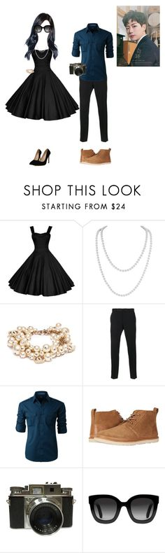 """""""[TEASER] Memory Lane Prologue Film -Yujia"""" by princessmax ❤ liked on Polyvore featuring Humble Chic, Chanel, Dolce&Gabbana, LE3NO, UGG, Golden Child and Gucci"""