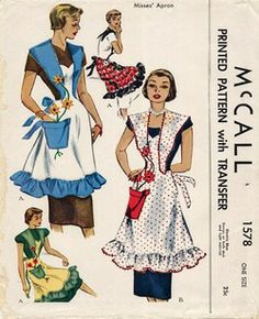 1950 McCall's pattern #1578. Bluegardenia1