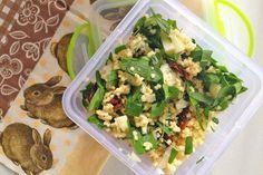 Bärlauch-Couscous-Salat
