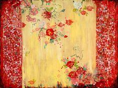 La chambre des roses rouges by Kathe Fraga www.kathefraga.com