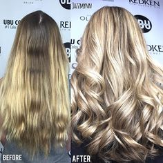 Before and after Beautiful Hand painted Balayage By @hairbyjazzmynngrace  Call to book a free consultation 813.801.9700 using @olaplex in @magiclightener @redken5thave  #blondebalayage #women #balayage #ombrehair #hair #haircut #olaplex #olaplexlove  #babe  #tampahair #naturalhair #blonde #blondegirl  #hairofinstagram #platinumblonde #buzzcutfeed  #behindthechair #babe #selfie  #silverhair #highlights  #allaboutdahair #hotonbeauty #americansalon  #southtampa #platinum #platinumhair #re...