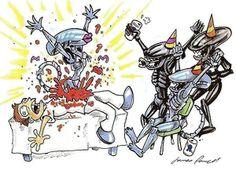 #humor #chistes #fotos #geek #friki #divertido #original #inventos #curiosidades Fiesta Alien !!! http://www.yougamebay.com