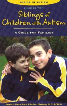Harris (applied and professional psychology, Rutgers U.) and Glasberg (applied psychology, Rider U.) provide a guide for parents to the experience of growing up as the brother or sister of a child with an autism spectrum disorder, ways to support children in understanding the disorder, and tools they can use to form a meaningful relationship with their sibling. They summarize the research on these relationships, then discuss how a child's understanding of ASD changes at different ages.