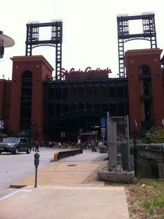 Baseball Heaven: Busch Stadium, St. Louis, Missouri.  Home of the St. Louis Cardinals #baseball #sports #places