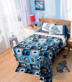 1000 images about kane 39 s room on pinterest jurassic for World themed bedding
