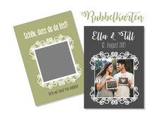 Gastgeschenke - Gastgeschenk Hochzeit Rubbelkarten PERSONALISIERT - ein Designerstück von Be-nice-4-you bei DaWanda