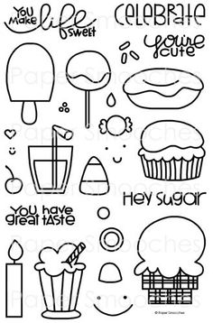 Paper Smooches Stamps: Sugar Rush