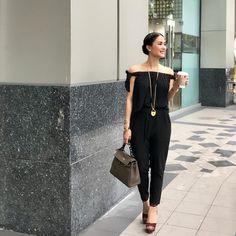 Consulta esta foto de Instagram de @stylebylovemarie_e • 2,539 Me gusta Heart Evangelista Style, Filipino Fashion, Weekend Style, Work Looks, Office Fashion, Office Outfits, Asian Style, Style Icons, Fashion Clothes