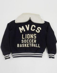 Vintage 80s EMPIRE Lions High School ATHLETIC Zip Down Hood VARSITY Jacket L T2 picclick.com
