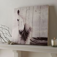 Graham & Brown in. Horse by Graham and Brown Wooden Wall Art, Black and White Graham & Brown in. Pferd von Graham und Brown aus Holz Wandkunst – The Home Depot Wooden Wall Art, Wooden Walls, Horse Themed Bedrooms, Horse Bedroom Decor, Rustic Girls Bedroom, Horse Bedrooms, Bedroom Ideas, Mothers Day Drawings, Horse Wall Art