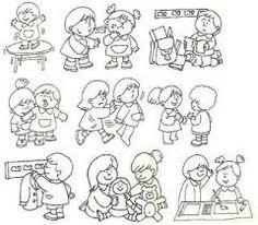 Resultado de imagen para imagenes para colorear de la buena conducta escolar