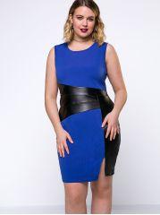 Color Block Plus Size Bodycon Dress   plus size fashion dresses   plus size fashion    #plussizedresses affiliate