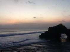 Tanah Lot beach sunset ...