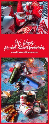 DIY // 96 Ideen für den Adventskalender - Bluetenschimmern | Ideen für den Adventskalender gesucht? Diese 96 Ideen begeistern deine Freunde, Freundin, Freund und Familie. Jetzt Adventskalender Selbermachen und Freude verschenken. Diy And Crafts, Christmas Ornaments, Holiday Decor, Winter, Blog, Hip Bones, Ideas For Christmas, Diy Advent Calendar, Advent Season
