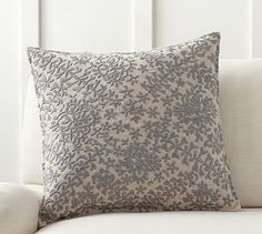 Moroccan Embroidered Pillow Cover #potterybarn