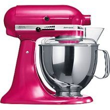 KitchenAid Artisan Stand Mixer in Raspberry Ice (OK, I'd settle for another colour, but I can dream...)