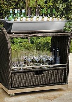 Ultimate Serving Cart - Frontgate