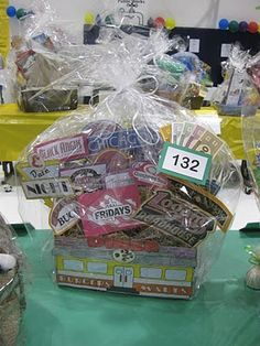 reverse raffle ideas harmon raffle baskets this one sold for240 basket labels raffle baskets gift baskets