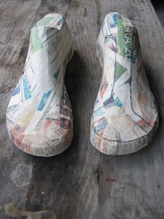 Tutorial to make lasts for shoe-making.  (Using plasticine is easier than making a wood last.)