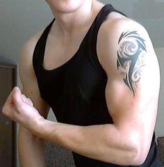 34 Best Simple Shoulder Tattoos For Men Images Guy Shoulder