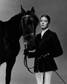 Princess Caroline of Monaco passed her love of riding (and equestrian style) to her daughter, Charlotte. Wow, she looks like her Mom!!!