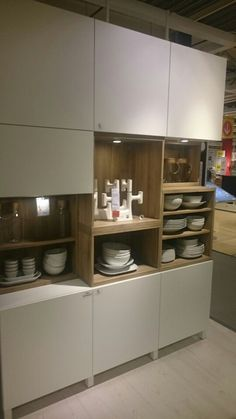 Kast ikea – Home Office Design Layout Kitchen Cabinets Wall Mounted, Ikea Kitchen Storage Cabinets, Small Kitchen Storage, Small Space Kitchen, Ikea Kitchen Australia, Crockery Cabinet, Freestanding Kitchen, Furniture Removal, Room Signs