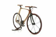 Wooden Carbon bicycle