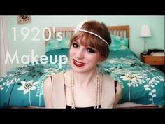 1920s Makeup - Flapper style