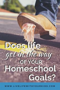 Sometimes it seems like life gets in the way of our homeschool goals. Ask yourself these 3 questions to align your lifestyle and your homeschool.