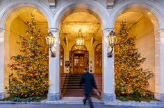 Beautiful decorations during our Christmas period. Old City, Grand Hotel, Basel, Shortbread, Old Town, Switzerland, Period, Old Things, Hotels