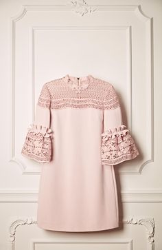 Ted Baker LUCILA lace bell sleeved dress