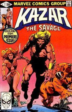 Ka-Zar the Savage #1 - A New Dawn...A New World!
