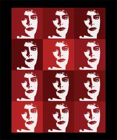 Rocky Horror Picture Show Warhol FrankNFurter