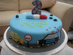 Car birthday cake - by Deborah Cubbon (the4manxies) @ CakesDecor.com - cake decorating website