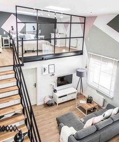 6 Easy Tricks To Make Your House Look More Organized And Tidy   Scandi /  Nordic Split Level Studio Apartment With Gorgeous Wooden Flooe U0026 Grey Sofa  The Best ...