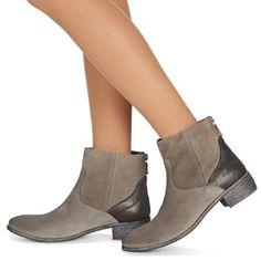Meline VIOTA Grau - Kostenloser Versand bei Spartoo.de ! - Schuhe Boots Damen 108,00 €